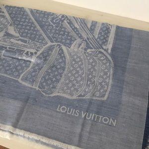 Louis Vuitton Steamer Shawl Monogram BagTrunk Used